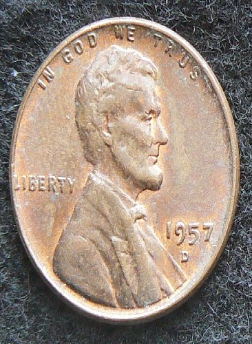 1957 D Lincoln Wheat Cent (AU)