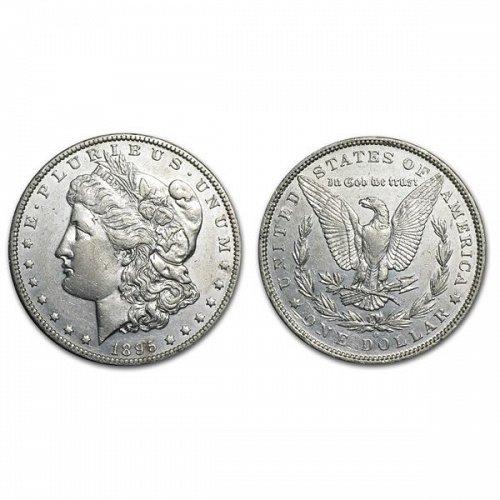 1895 O Morgan Silver Dollar - AU