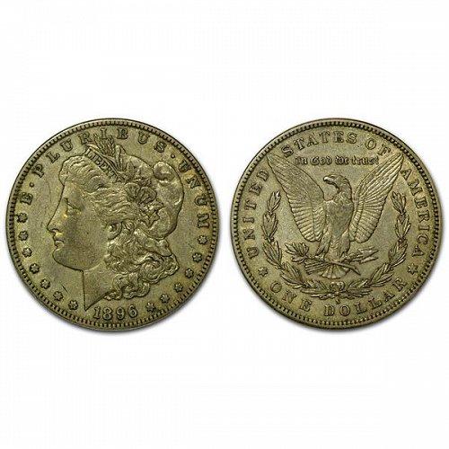 1896 S Morgan Silver Dollar - XF