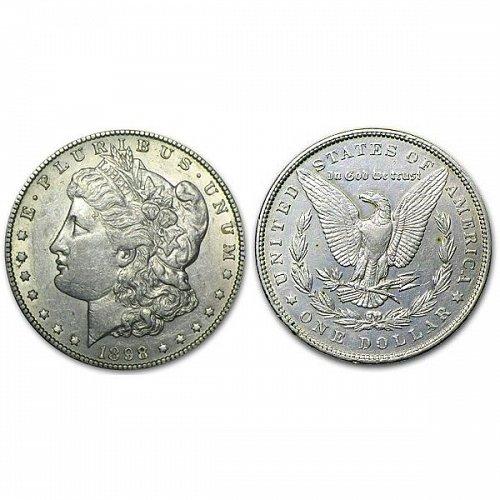 1898 Morgan Silver Dollar - AU