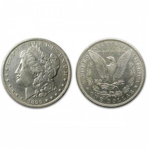 1899 Morgan Silver Dollar - AU