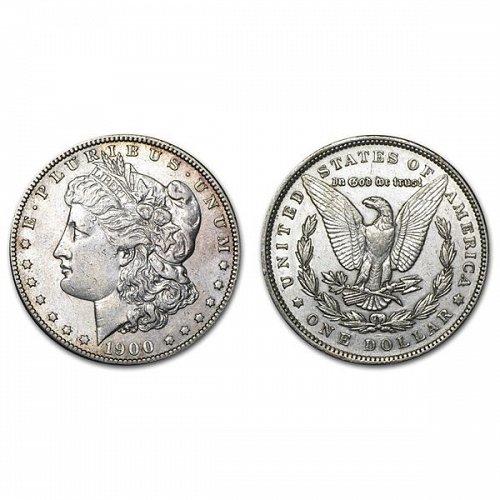 1900 Morgan Silver Dollar - AU