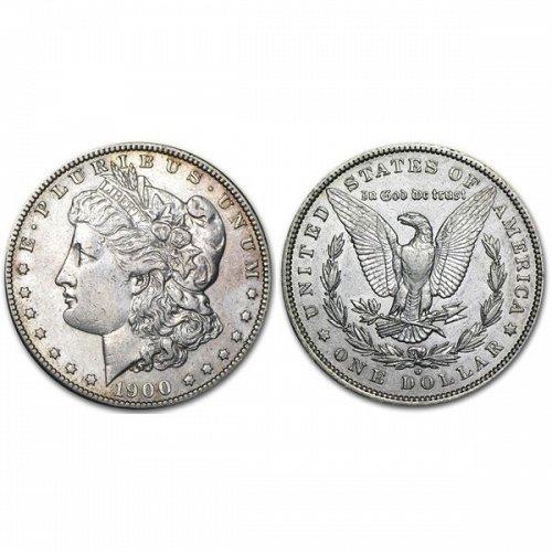 1900 O Morgan Silver Dollar - AU