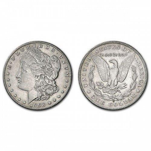 1902 O Morgan Silver Dollar - AU