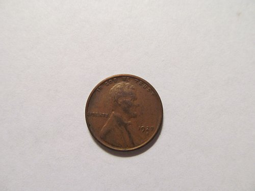 1927 S Lincoln cent