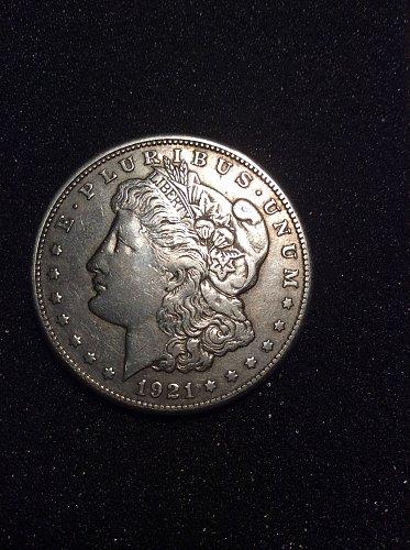 1921-s morgan dollar