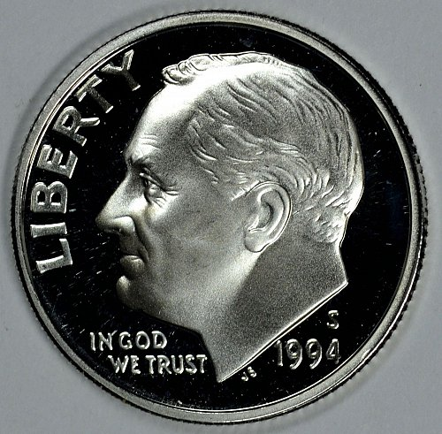 1994 S Roosevelt Dimes: Silver Proof