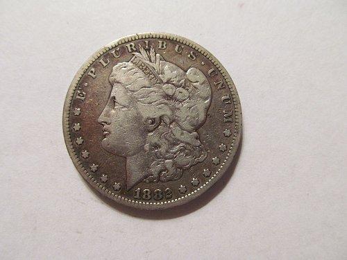 1882 S Morgan dollar