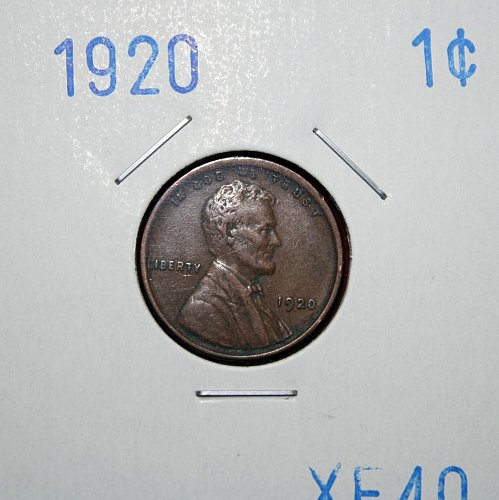 1920 P Lincoln Wheat Cent Small Cents
