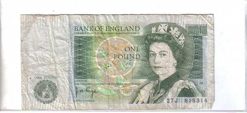 BANK OF ENGLAND -  ONE POUND