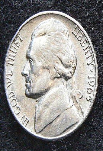 1965 P Jefferson Nickel (Circ)