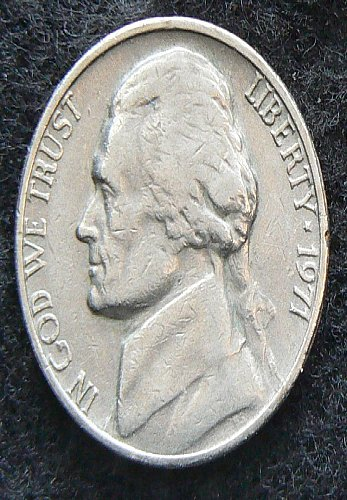 1971 P Jefferson Nickel (Circ)