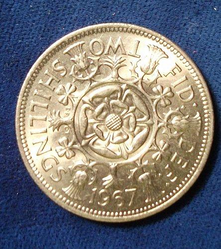 1967 Great Britain Florin BU