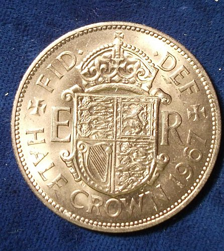 1967 Great Britain Half Crown BU