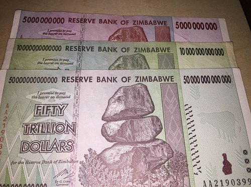 Trillions of Zimbabwe Dollars - Best Price+Free Shipping