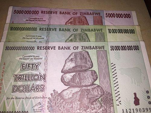 Trillions of Zimbabwe Dollars - Best Price+Free Shipping