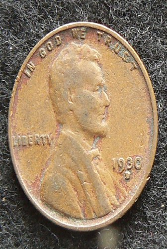 1930 D Lincoln Wheat Cent (F-12)