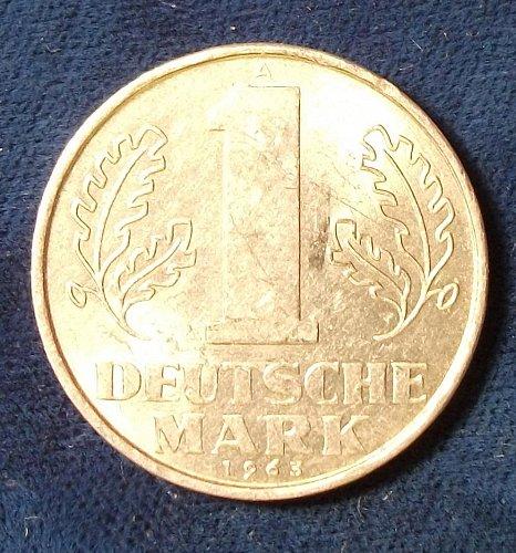 1963A Germany/DDR Mark AU