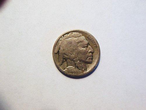 1918-P Buffalo Nickel