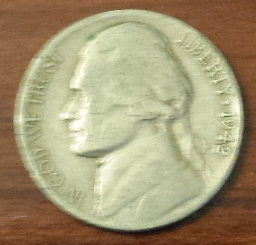 1942-D Jefferson Nickel (5963)