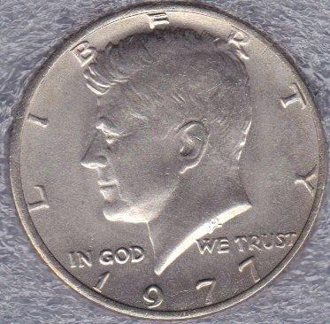 1977 P Kennedy Half Dollar