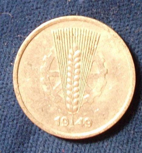 1949A Germany/DDR 5 Pfennig VF+