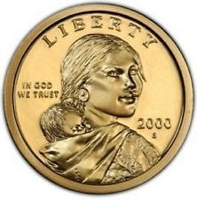 2000 S  PROOF  SACAGAWEA GOLDEN DOLLAR