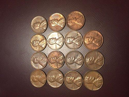 Lot of 1964 D Memorial Pennies!!