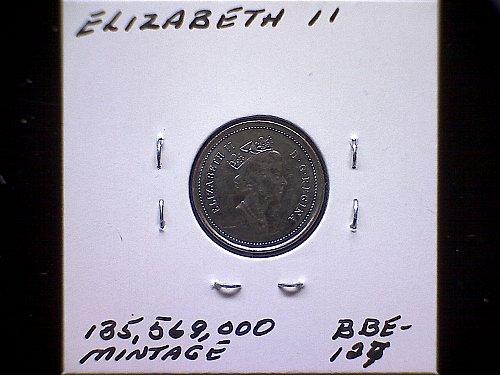 1993 CANADA QUEEN ELIZABETH 11  10 CENT COIN