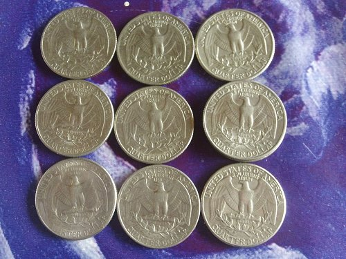 Quarters from 1973 - 1987