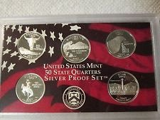 2007 S PROOF SILVER MONTANA STATE QUARTER