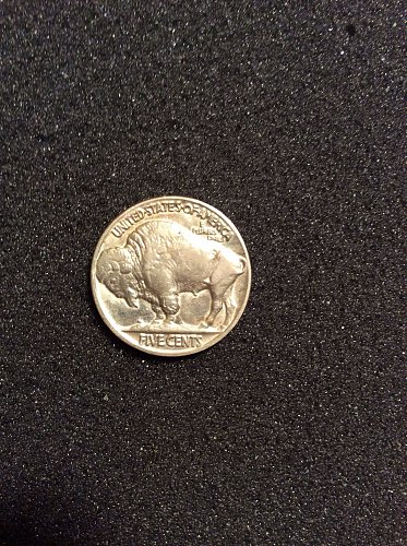 1935-p buffalo nickle