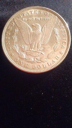 1882 $1 Morgan Silver Dollar