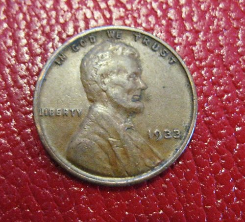 1933 Lincoln Wheat Cent