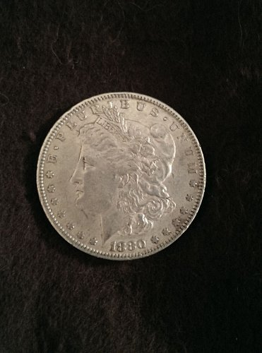 Key date rare 1880 o Morgan Silver Dollar