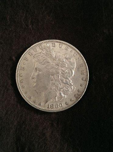 Key date rare 1880 o Morgan Silver Dollar