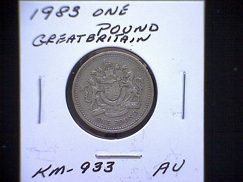 1983 GREAT BRITAIN QUEEN ELIZABETH 11  ONE POUND