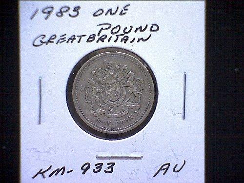 1983 GREAT BRITAIN QUEEN ELIZABETH 11  ONE POUND