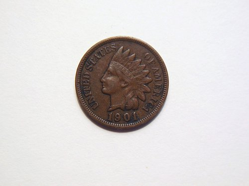 1901-P Indian Head Cent