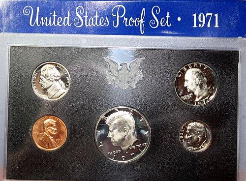 1971 S US PROOF SET