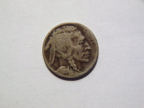 1925-D Buffalo Nickel