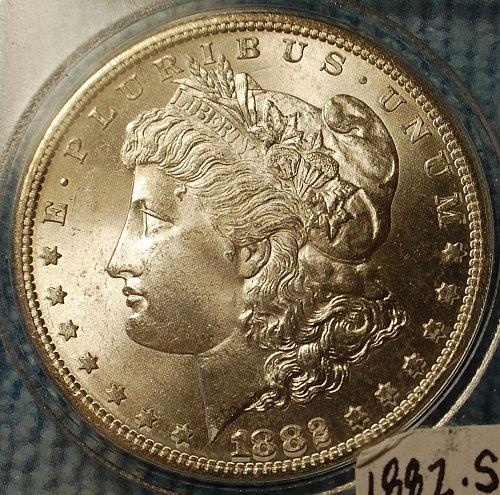 1882 S Morgan Silver Dollar - Stunningly Rare High Grade!!!