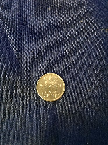 1948 Netherlands 10 cent AU high quality coin