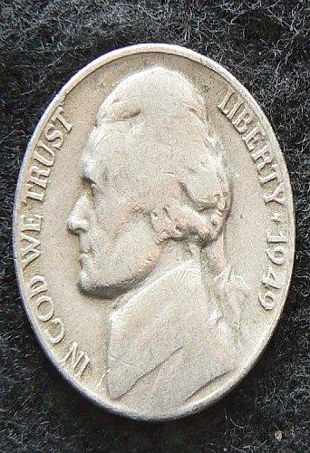 1949 D Jefferson Nickel (VG-8)