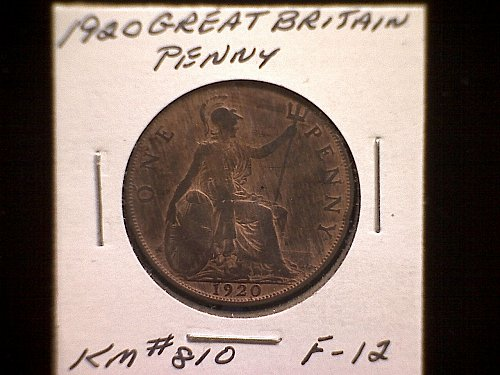 1920 GREAT BRITAIN KING GEORGE V PENNY