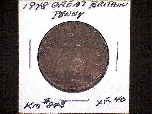 1948 GREAT BRITAIN KING GEORGE V1 PENNY