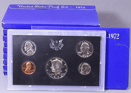 1972 S US PROOF SET