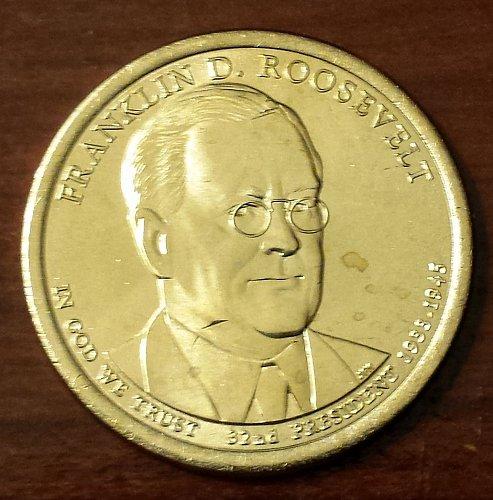 2014-D Franklin D. Roosevelt Presidential Dollar (5999)