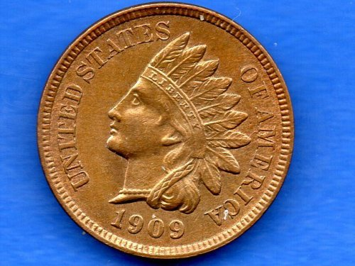 1909 P Indian Head Penny Genuine Natural US Coin
