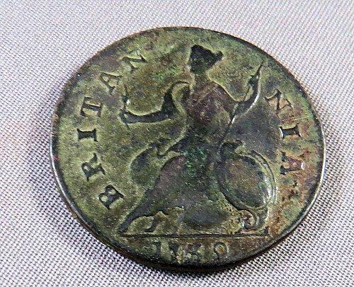 1730 Halfpenny